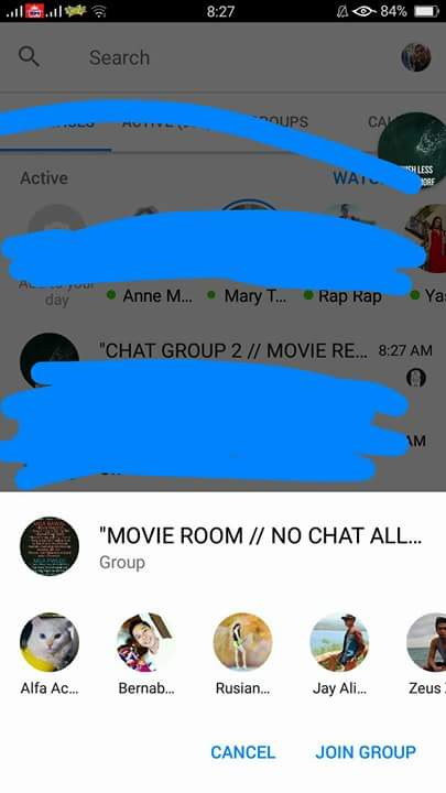 AVAILABLE MOVIE & CHAT ROOMS LINKS FREE TO JOIN IN MESSENGER APP