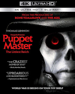 blu-ray and dvd covers: FULL MOON BLU-RAYS: PUPPET MASTER