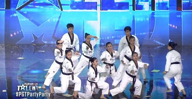 Star Taekwondo Team Wows The Judges With Their Taekwondo Act!