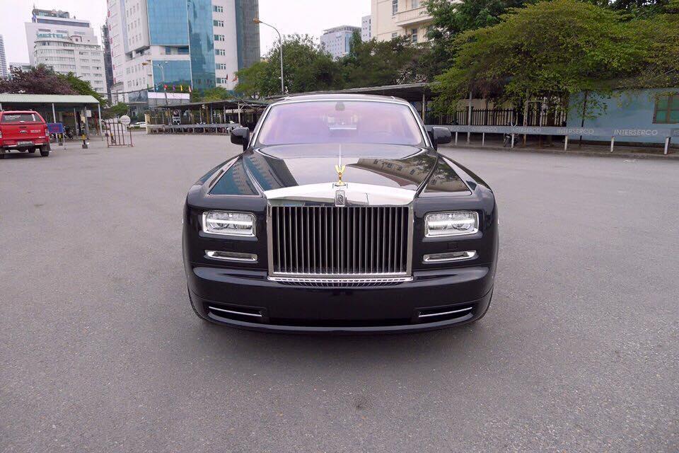 Khui công Rolls Royce Phantom Series II 2015 tại Hà Nội
