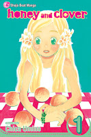 Honey and Clover volume 1 by Chica Umino.