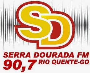 Rede Serra Dourada FM de Rio Quente GO ao vivo pela net, a maior rede do estado de Goiás online