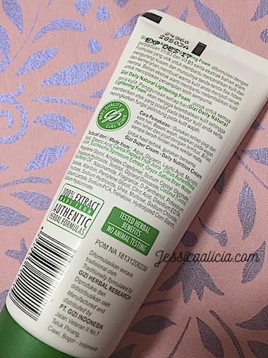 Review : Gizi Super Cream (NEW), Perawatan Kulit Wajah Alami by Jessica Alicia
