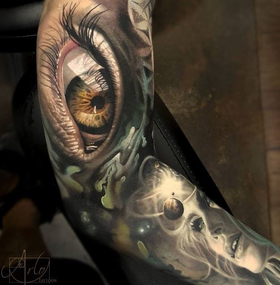 155+ Best 3D Tattoos For Men (2019) Designs & Ideas - Page 3 of 5 ...