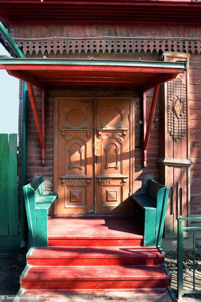 деревянный дом модерн