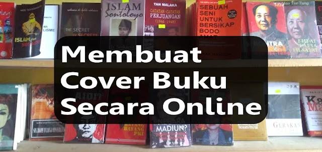 membuat cover buku secara online
