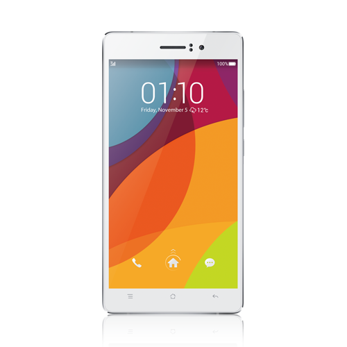Oppo R5, Smartphones Slimmest in The World