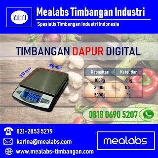 Timbangan Dapur Digital