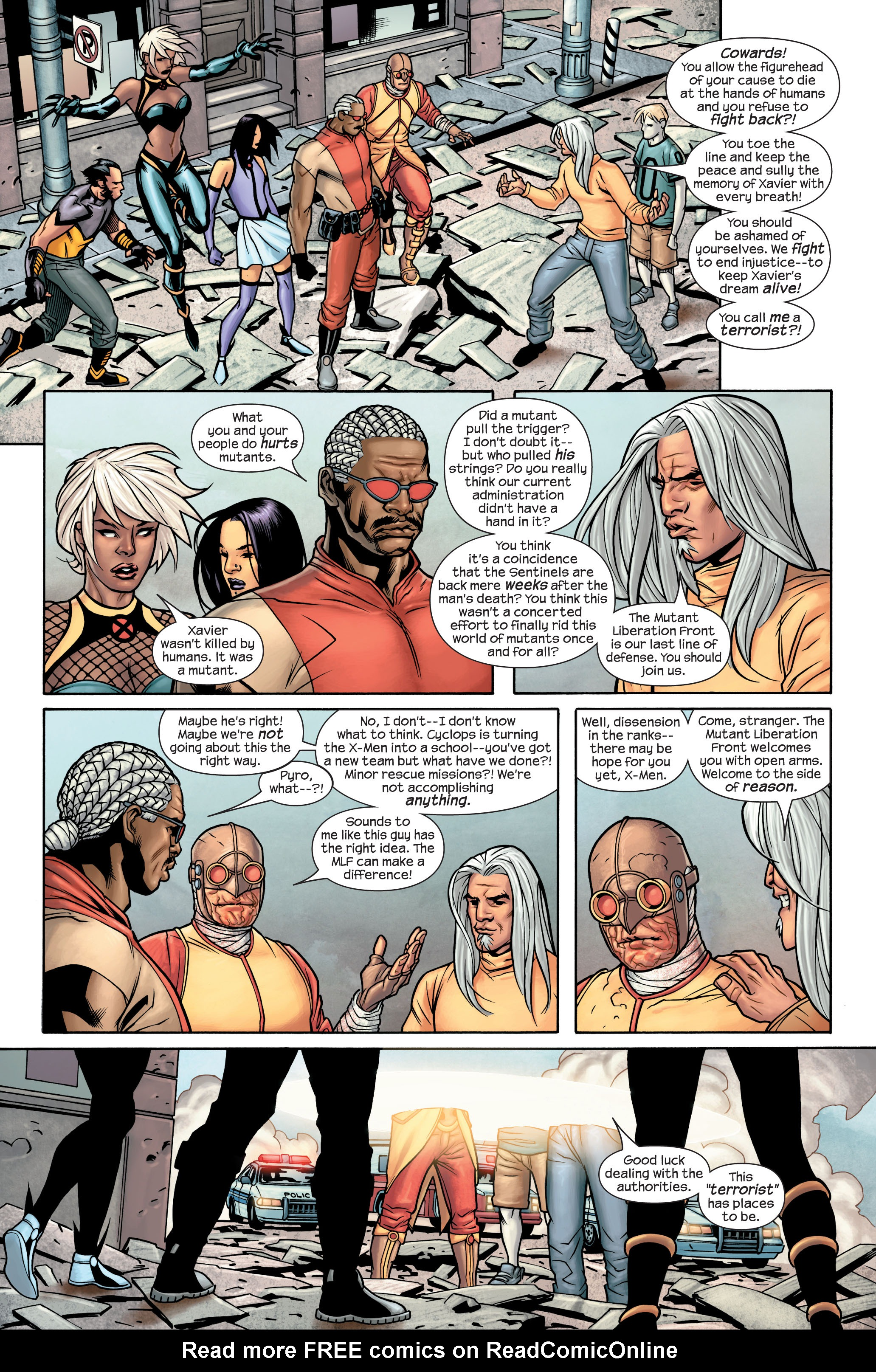 Read online Ultimate X-Men comic -  Issue #85 - 12