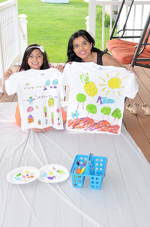 Cómo Pintar Camisetas en Casa-MariEstilo- ALL- Food Lion- Colectiva Latina-Life Bits- Blogger Style- CBIAS- DIY-Materiales