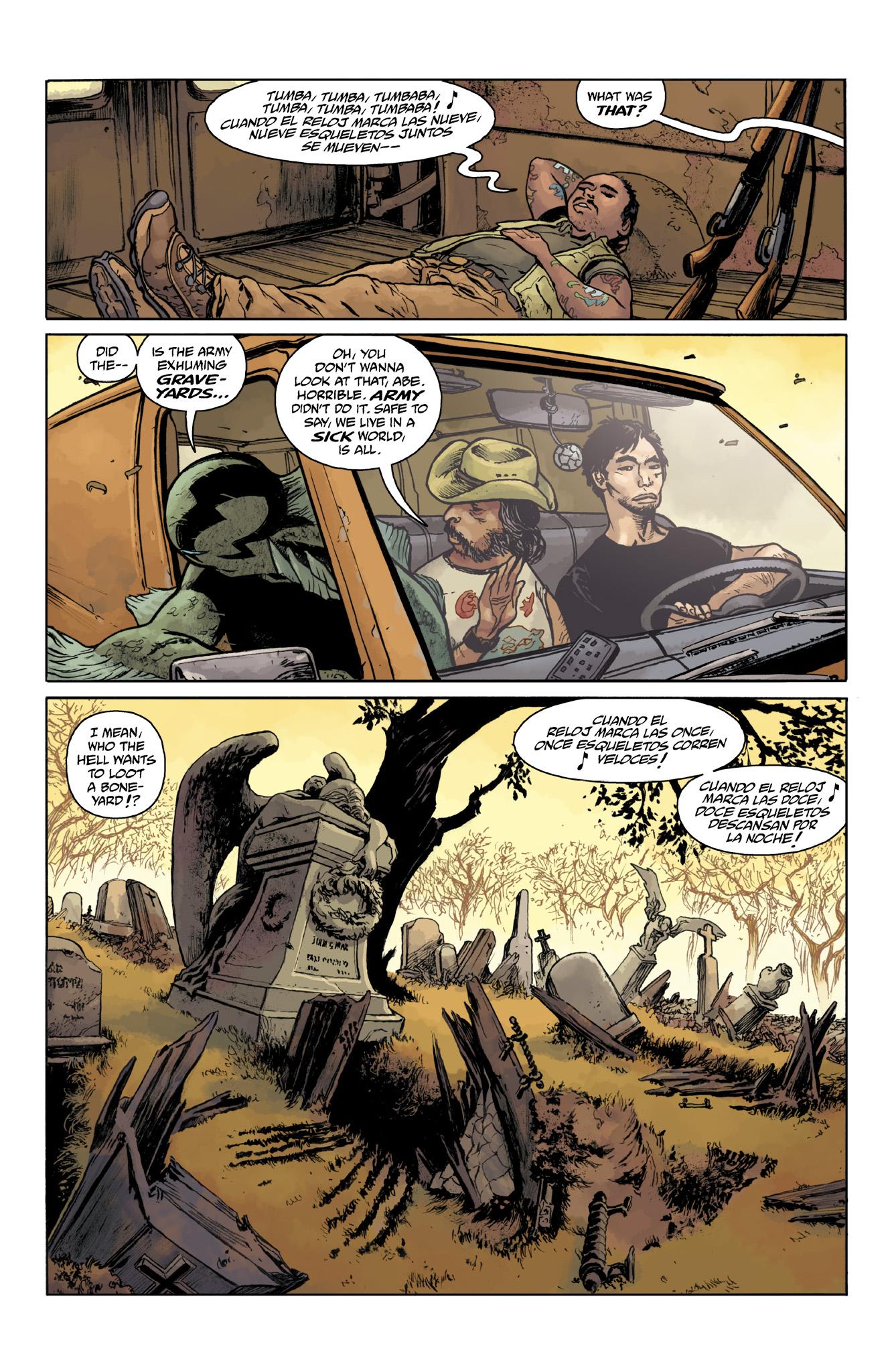 Read online Abe Sapien comic -  Issue #18 - 10