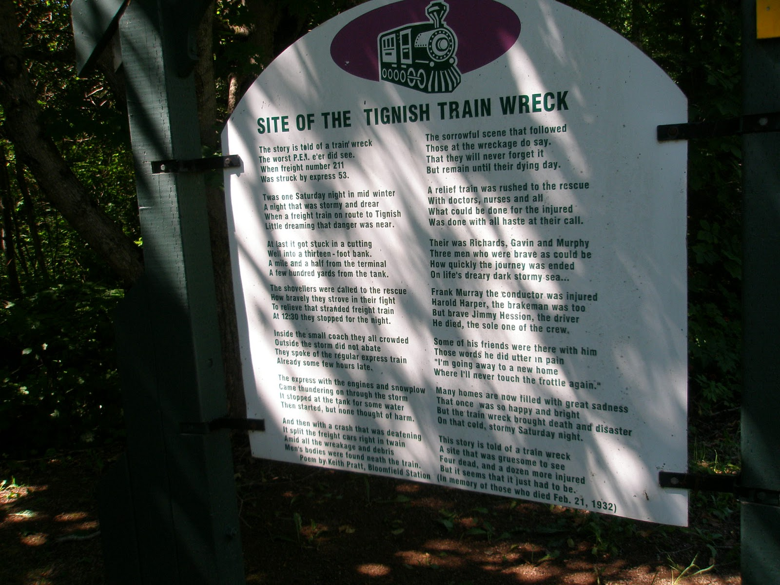Pedaling PEI: Train wreck