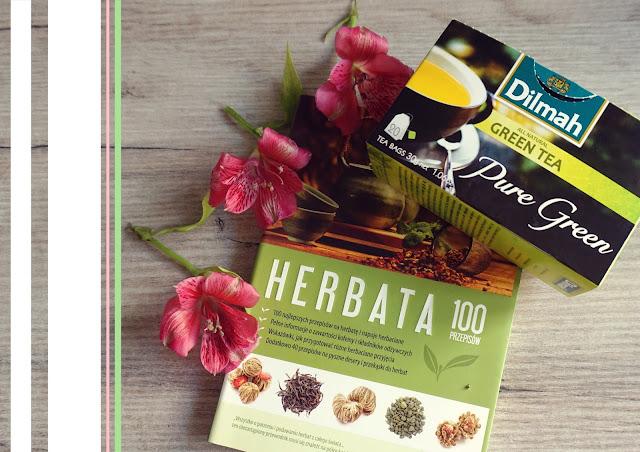 """Książka o herbacie i """"Pure Green"""" Dilmah - recenzja"""