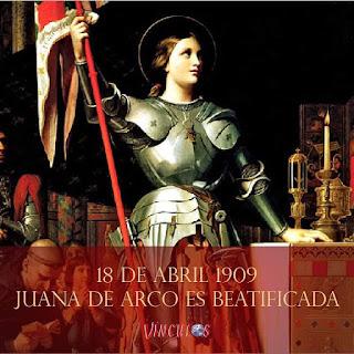Juana de Arco conocida Doncella de Orleán