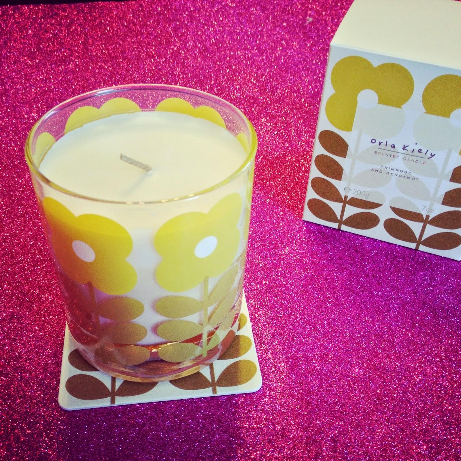 Orla Kiely Candles