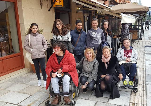 Συνάντηση του Ενιαίου Ειδικού Επαγγελματικού Γυμνασίου-Λυκείου Αργολίδας με τον Δήμαρχο Ναυπλιέων και φορείς για το πρόγραμμα FREEMOBILITY