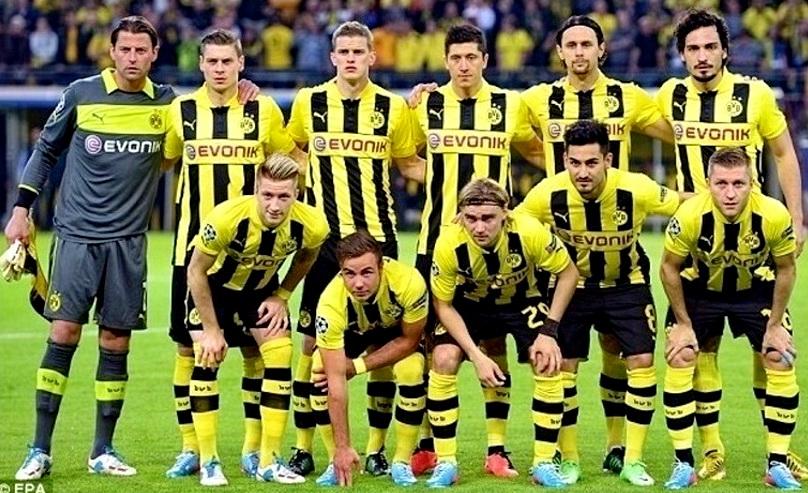 Equipos De Futbol Borussia Dortmund En La Temporada 2012 13