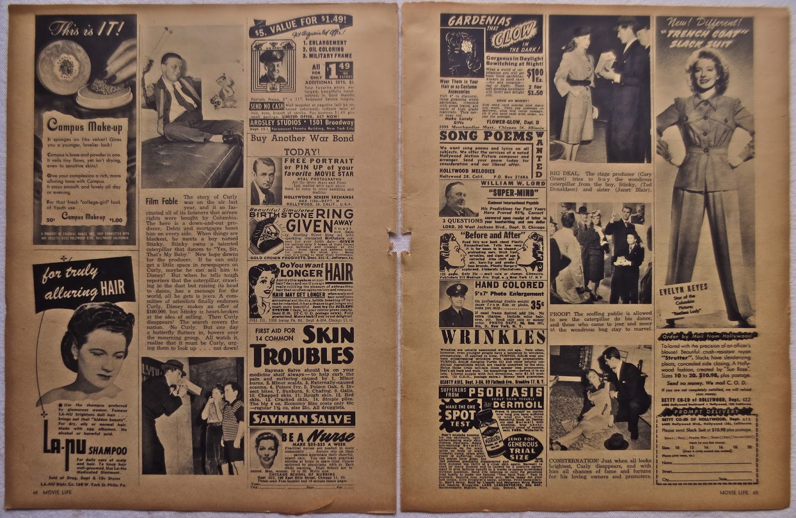 1940s Magazines Articles – Billy Knight