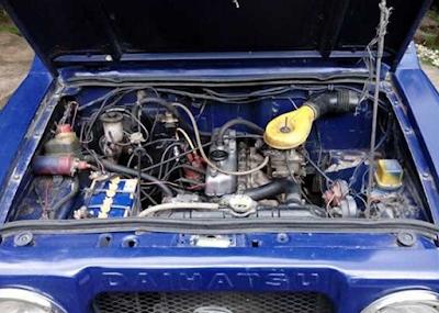 Mesin Daihatsu Taft Kebo / Badak Bensin