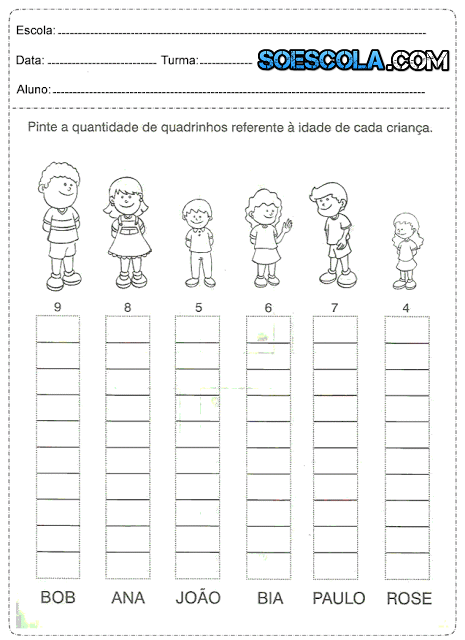Matemática para séries iniciais