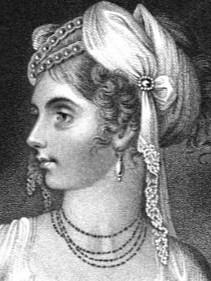 Lady Elizabeth Foster  from La Belle Assemblée (1810)