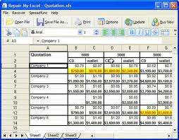 What is software - MS Excel software