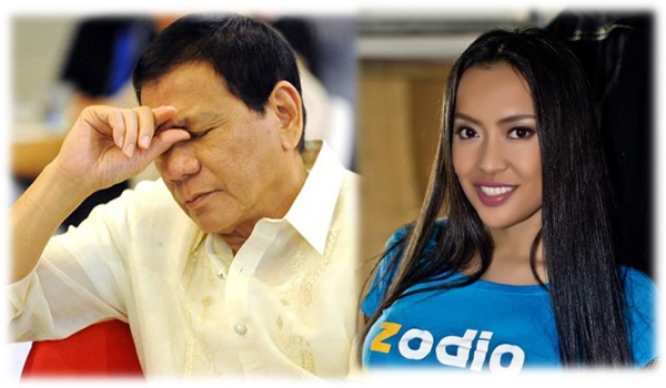 Mocha Uson responds to Gab Valenciano's criticism against Duterte