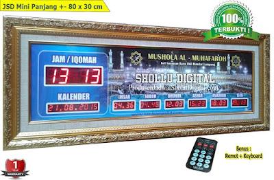 Jual Jam Jadwal Sholat Digital Masjid Di Tangerang