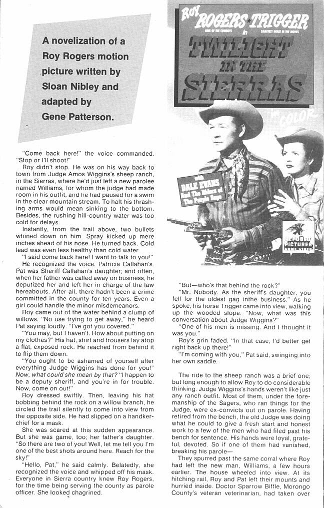 Read online Roy Rogers comic -  Issue #3 - 45