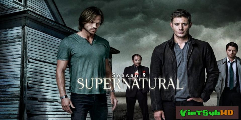 Phim Siêu nhiên (Phần 9) Trailer VietSub HD | Supernatural (Season 9) 2013