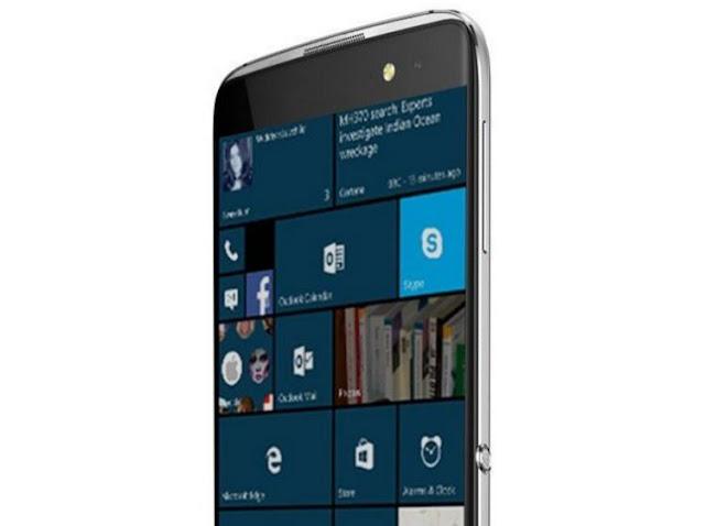 Alcatel Idol 4 Pro : أول هاتف من ألكاتيل تعمل بنظام Windows 10 Mobile