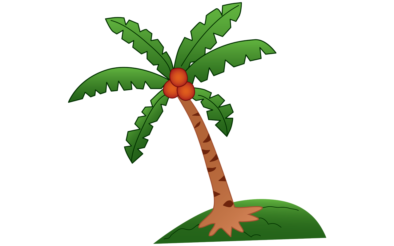 coconut palm tree coloring page palm tree coloring sheets palm