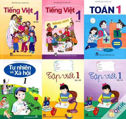 Sách giáo khoa lớp 1
