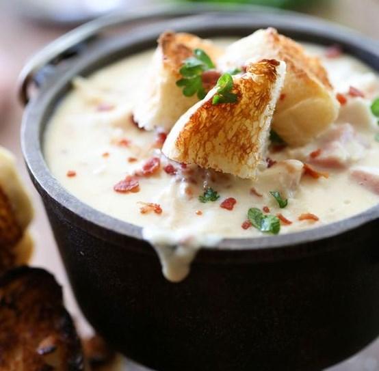 Chicken Cordon Bleu Soup #dinner #food