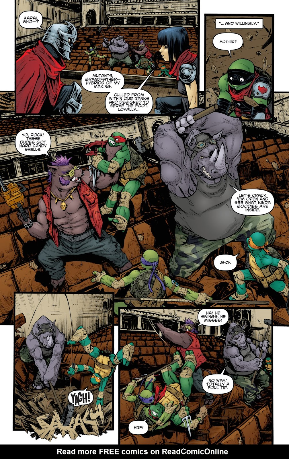 Read online Teenage Mutant Ninja Turtles: The IDW Collection comic -  Issue # TPB 3 (Part 4) - 59