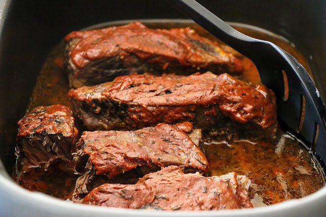 Low and Slow Baked BBQ Short Ribs