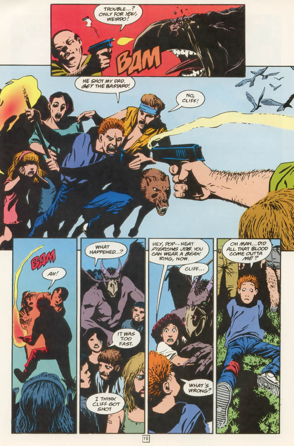Read online Animal Man (1988) comic -  Issue #77 - 13