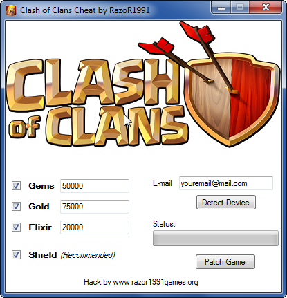 Clash of clans hack generator download 2013 cheat code download apps