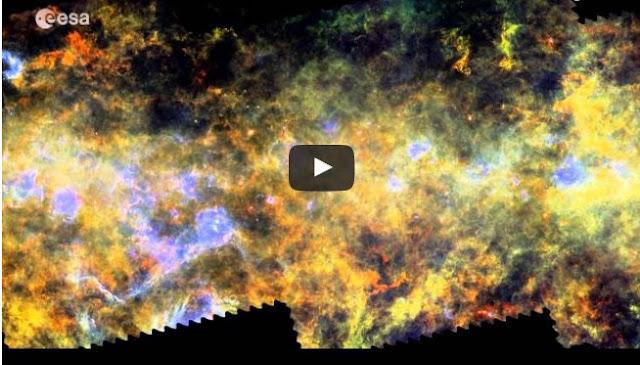 Milky Way In Unprecedented Information: Magnificent Herschel Video Takes You On A Visit Of The Stellar Nurseries In The Milky-Way