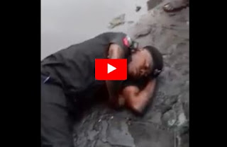 Drunken Police Filmed In Lagos
