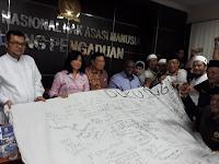 Alumni 212 Minta Komnas HAM Usut Dugaan Kriminalisasi Ulama