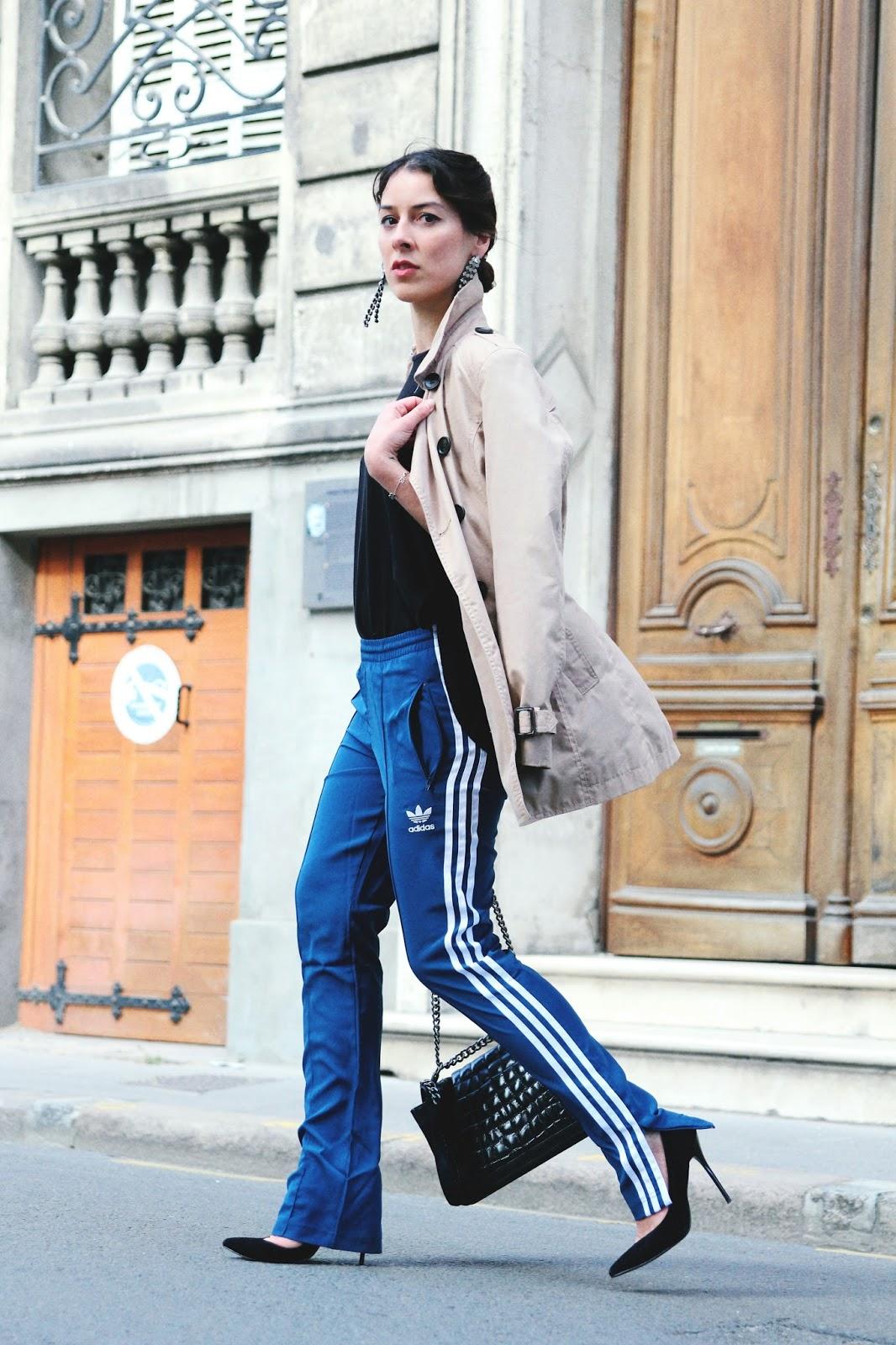 idée de look avec un jogging adidas pour le printemps 2017