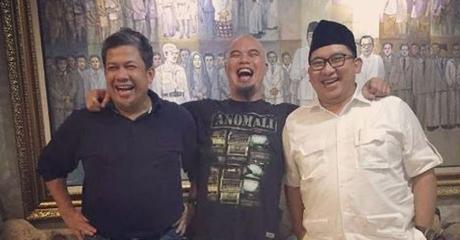 GPNF-MU Bertemu Presiden Jokowi, Ahmad Dhani: Ulama Tidak Boleh Datang ke Umara'