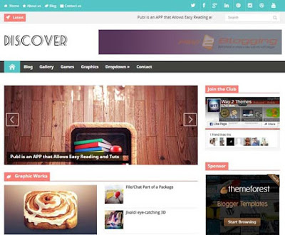Discover Responsive, Modern design Technology, News, Magazine, Personal blog, Personal Pages Minimalist Gallery style Featured post slider White, Gray color, Right Sidebar Ads Ready SEO ready Latest post animated widget ready 2 Columns layout 4 Columns Footer Blogger Template download