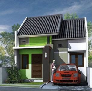 model contoh atap rumah type 36