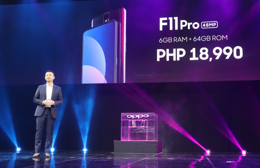 OPPO F11 Pro priced Php 18,990