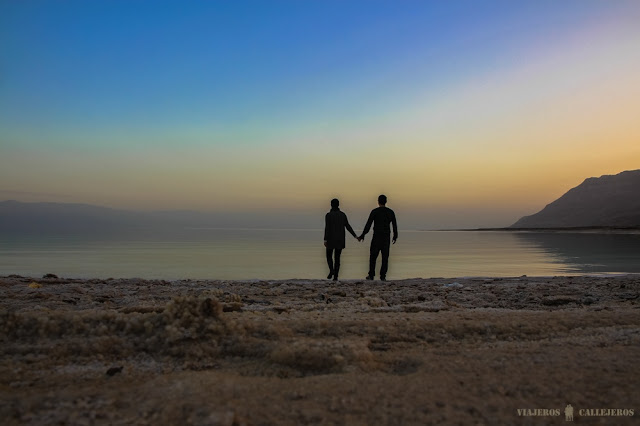 Viajeros Callejeros - Mar Muerto (Israel)