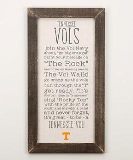 Tennessee Collegiate Gear