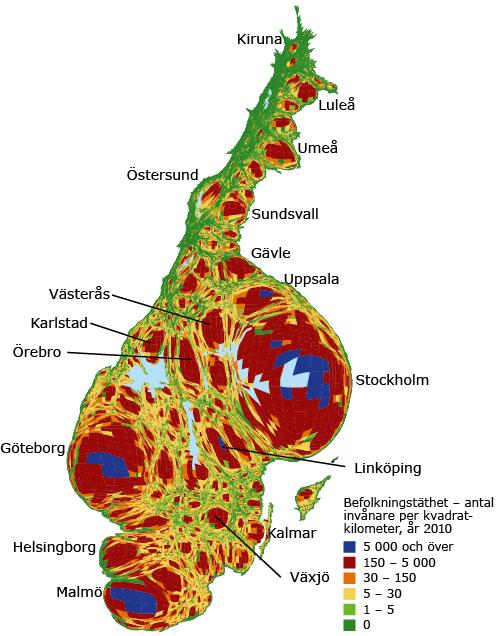 järnvägar i sverige karta