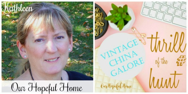 My Thrift Store Addiction Vintage Charm party